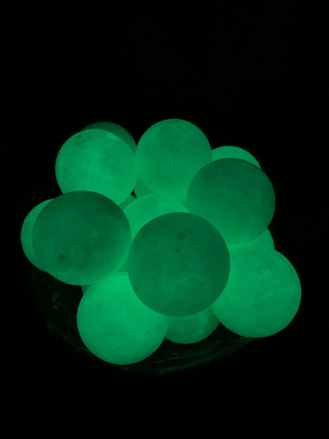 Glow in the dark Calcite Sphere - Small