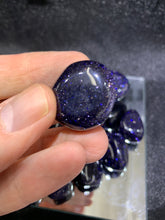 Load image into Gallery viewer, Blue Goldstone Tumbled