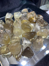 Load image into Gallery viewer, Natural Citrine Tumbled - 4 Stones