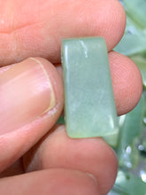 Load image into Gallery viewer, Nephrite Jade Stick Beads - from Canada