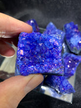 Load image into Gallery viewer, Amethyst Cluster Blue (Dyed)