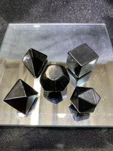 Load image into Gallery viewer, Shungite Platonic Solids