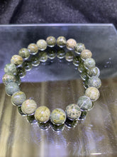 Load image into Gallery viewer, Green Jasper Bracelet - 8mm