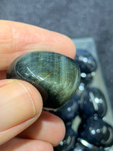 Load image into Gallery viewer, Blue Tiger's Eye Tumbled