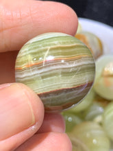 Load image into Gallery viewer, Green Onyx Sphere - Small
