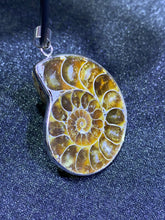 Load image into Gallery viewer, Ammonite Fossil Pendant