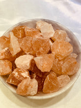 Load image into Gallery viewer, Pink Himalayan Salt Rough - 100 grams (9 to 15 Pieces)