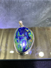 Load image into Gallery viewer, Azurite (Oval) Pendant