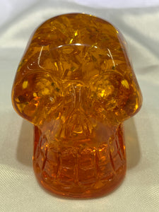 Synthetic Amber Skull