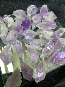Amethyst Point - Small - 4 Stones
