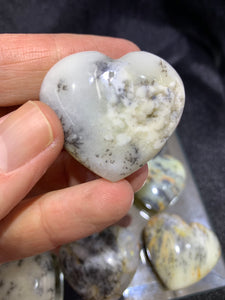 Merlinite Puff Heart - Medium