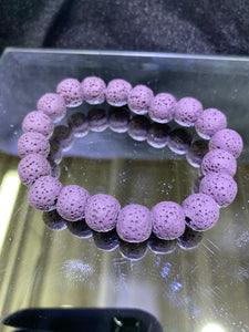 Lava Rock  Bracelet (dyed colours)