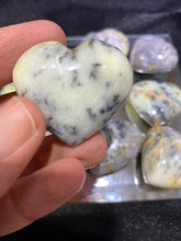 Load image into Gallery viewer, Merlinite Puff Heart - Medium