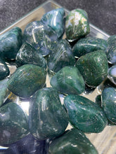 Load image into Gallery viewer, Moss Agate Tumbled