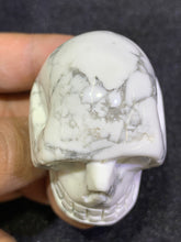Load image into Gallery viewer, Howlite Skull