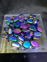 Load image into Gallery viewer, Rainbow Hematite (Coated Stone) Tumbled