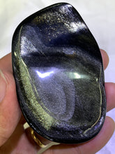 Load image into Gallery viewer, Gold Sheen Obsidian Freeform