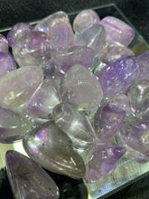 Load image into Gallery viewer, Amethyst Aura Tumbled