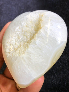 Orange  Selenite Oval/Soap