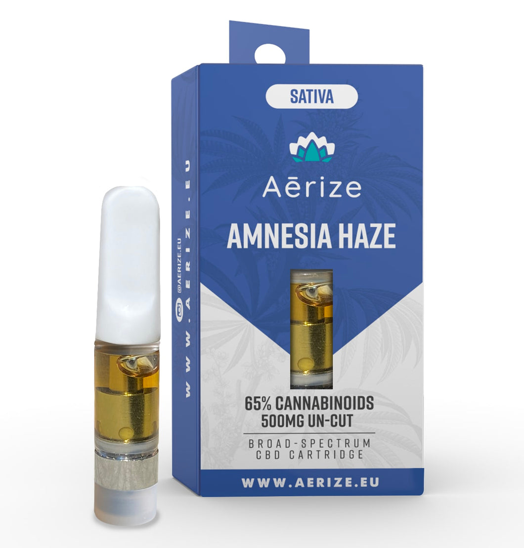 Amnesia Haze CBD Cartridge 500MG
