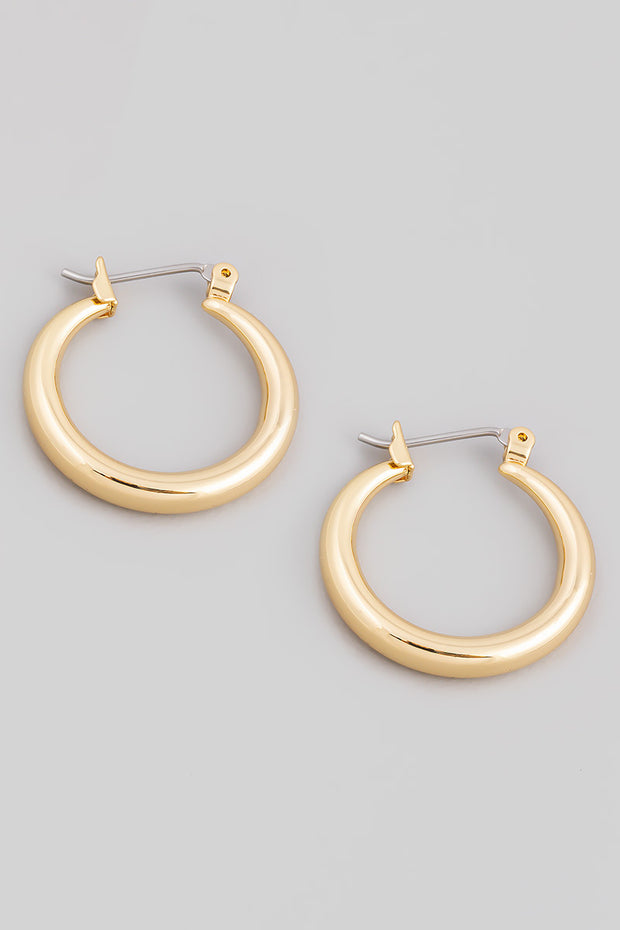 Latch Hoop Earrings