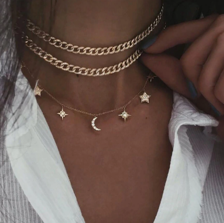 Shoot for the Stars Necklace