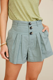 Chic Moment High Waisted Shorts