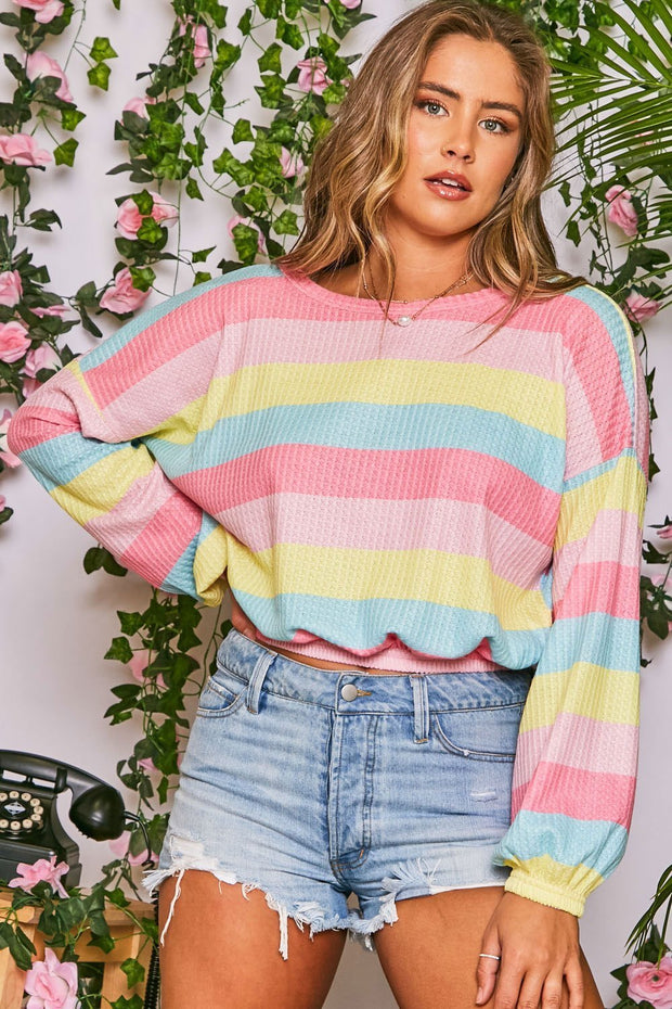 Eyes For You Stripe Sweater
