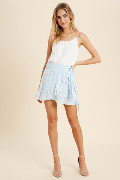Freshly Picked Ruffle Mini Skirt