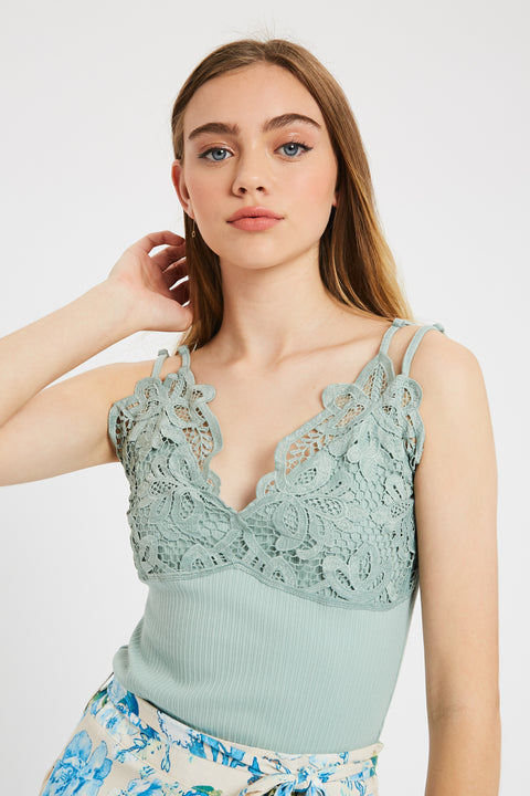Her Vibe Crochet Camisole