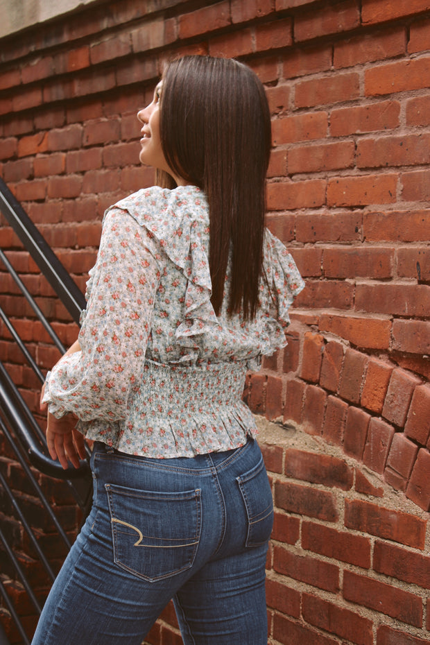 Village Dreams Floral Top