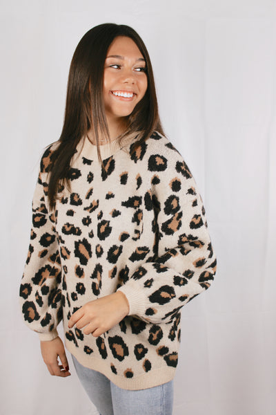 Road Home Leopard Sweater