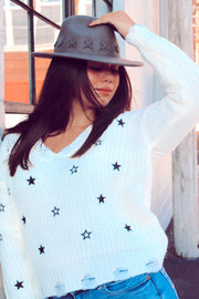 Make a Wish Star Sweater