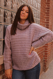Edge of Town Turtleneck Sweater