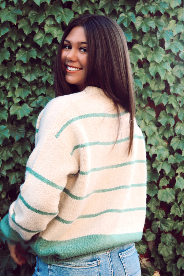 Dreamy Days Striped Sweater