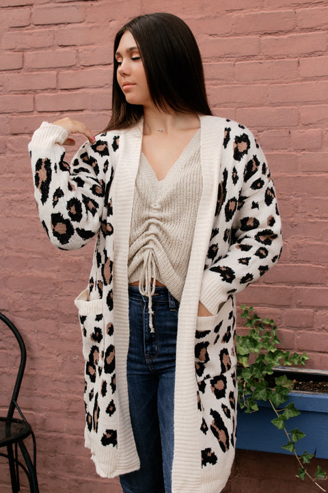 Is This Love Leopard Cardigan