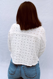 By The Sea Eyelet Jacket