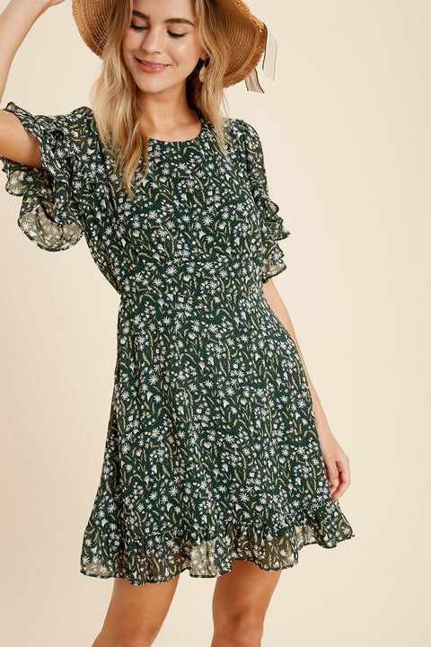 Lost With You Floral Dress