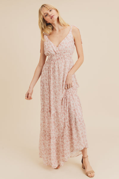 Floral Muse Tiered Dress