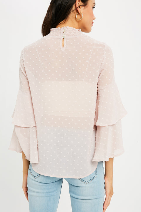 French Twist Ruffled Top