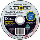 Flexovit 125mm Metal Cutting Wheel - United Tools Townsville