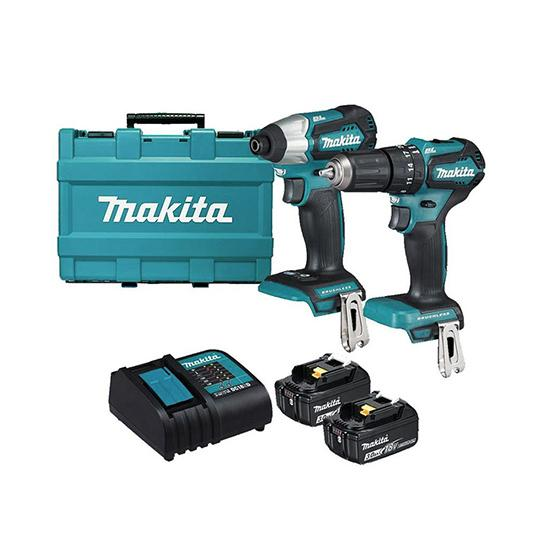 Makita 18V 2 Piece Brushless Combo DLX2221S