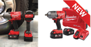 "Milwaukee M18 FUEL™ 1/2"" High Torque Impact Wrench with Friction Ring Kit-M18FHIWF12-502C"