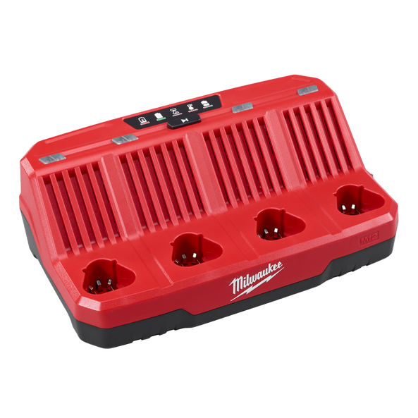 Milwaukee M12 4 Bay Sequential Battery Charger M12C4-0