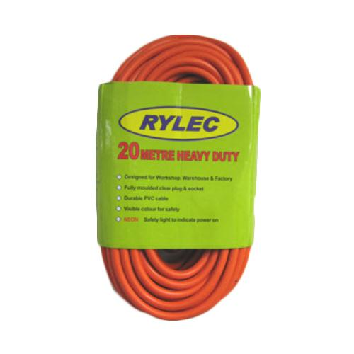 Rylec 20m Heavy Duty 10 Amp Extension Lead
