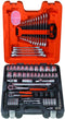 "Bahco 106 Piece 1/4"" & 1/2"" Socket & Spanner Set S106"