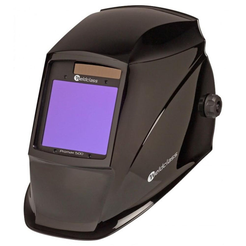 Weldclass Promax 500 Black Wide View Auto Welding Helmet WC-05317