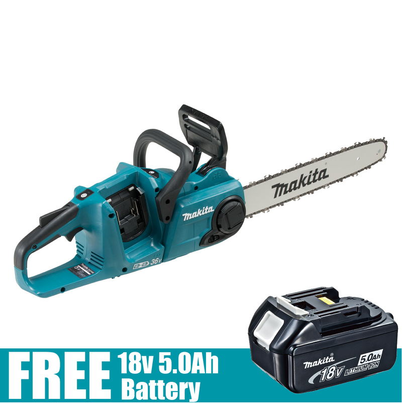 Makita 36V (18Vx2) Brushless Chainsaw DUC400Z - United Tools Townsville