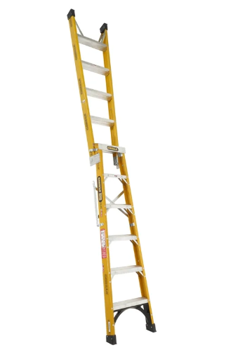 Gorilla 1.8-3.2m 150kg Fibreglass Dual Purpose Ladder FDM006-I