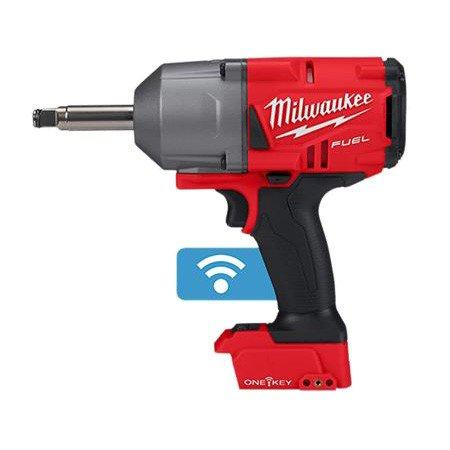 "Milwaukee M18 Fuel ONE-KEY 1/2"" Extended Anvil High Torque Impact Wrench M18ONEFHIWF12E-0"
